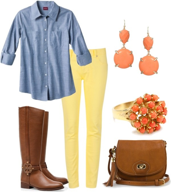 yellow-skinny-jeans-blue-light-collared-shirt-earrings-ring-cognac-bag-cognac-shoe-boots-howtowear-fashion-style-outfit-spring-summer-lunch.jpg
