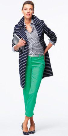 green-emerald-slim-pants-blue-light-collared-shirt-dot-belt-blue-navy-jacket-coat-stripe-bun-blue-shoe-flats-howtowear-fashion-spring-summer-style-outfit-hairr-lunch.jpg
