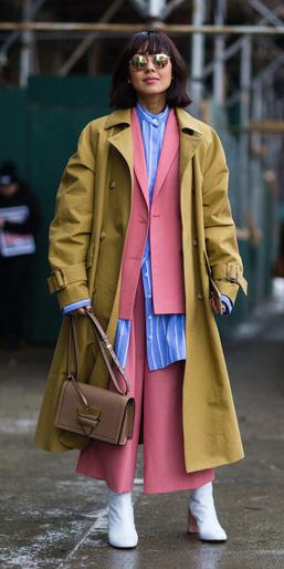 pink-light-culottes-pants-suit-blue-med-collared-shirt-layer-pink-light-jacket-blazer-white-shoe-booties-sun-trench-lob-yellow-jacket-coat-fall-winter-brun-work.jpg