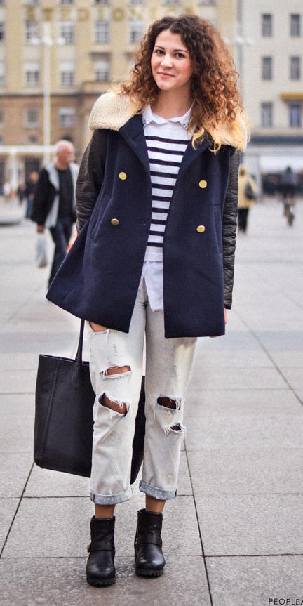 white-boyfriend-jeans-stripe-white-collared-shirt-hairr-black-bag-tote-black-shoe-booties-blue-navy-jacket-coat-peacoat-fall-winter-weekend.jpg