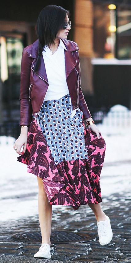 pink-magenta-midi-skirt-print-white-collared-shirt-burgundy-jacket-moto-brun-white-shoe-sneakers-fall-winter-lunch.jpg