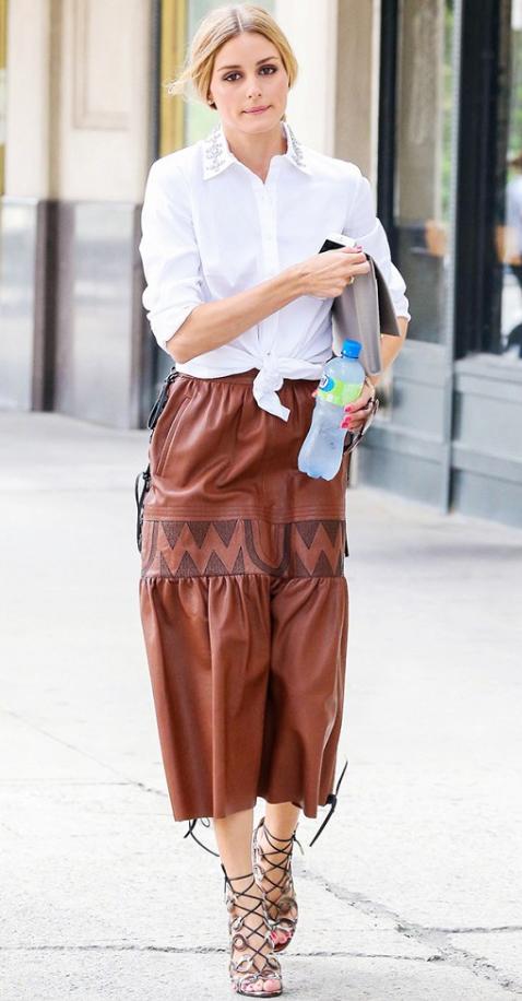 o-camel-midi-skirt-white-collared-shirt-bun-oliviapalermo-wear-outfit-spring-summer-brown-shoe-sandalh-hairr-work.jpg