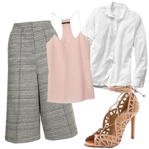 grayl-culottes-pants-pink-light-cami-white-collared-shirt-tan-shoe-sandalh-cage-layershirtundercami-spring-summer-work.jpg