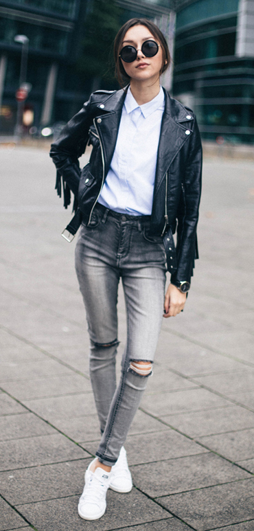 grayl-skinny-jeans-white-collared-shirt-black-jacket-moto-white-shoe-sneakers-sun-pony-howtowear-fashion-style-outfit-fall-winter-brun-weekend.jpg