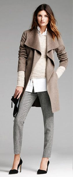 grayl-slim-pants-white-collared-shirt-white-sweater-tan-jacket-coat-black-bag-clutch-howtowear-fashion-style-outfit-fall-winter-black-shoe-pumps-layer-neutrals-office-hairr-work.jpg