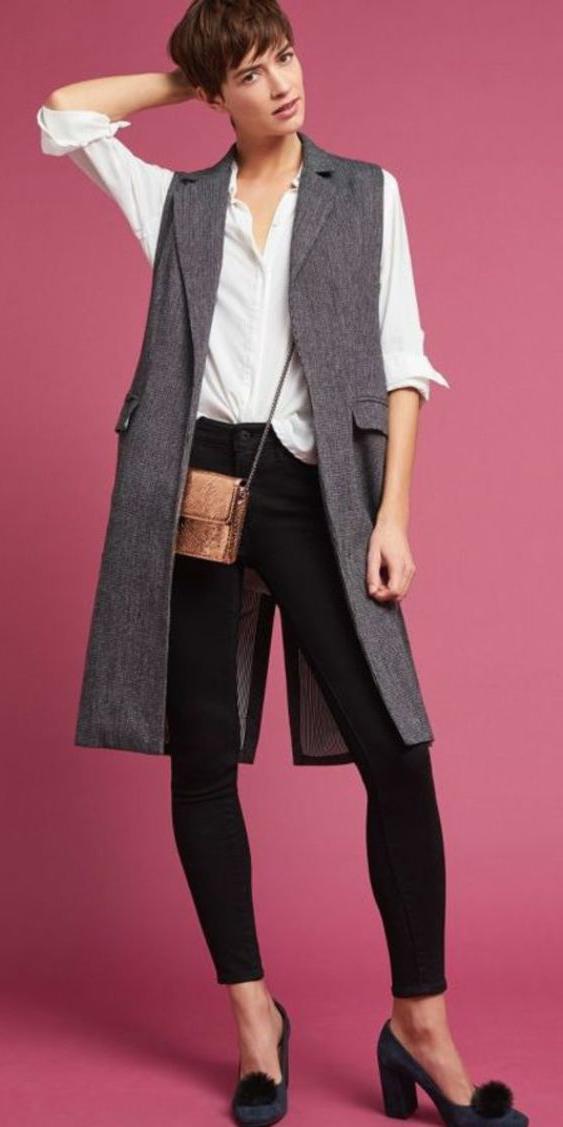 black-skinny-jeans-white-collared-shirt-hairr-blue-shoe-pumps-grayd-vest-tailor-anthropologie-fall-winter-lunch.jpg
