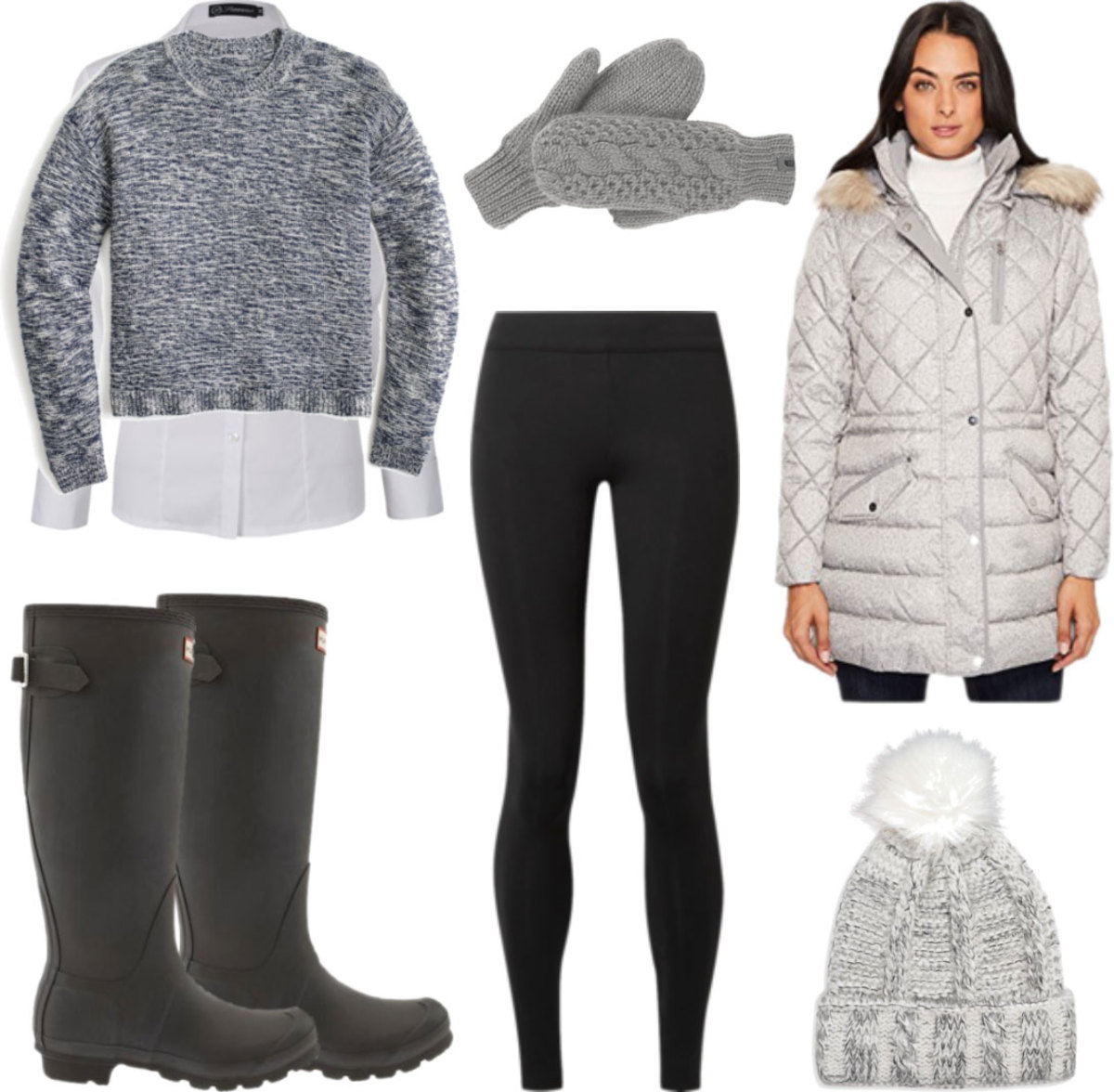 black-leggings-white-collared-shirt-gloves-grayl-sweater-layer-black-shoe-boots-rain-wellies-grayl-jacket-coat-parka-fall-winter-outfit-weekend.jpg
