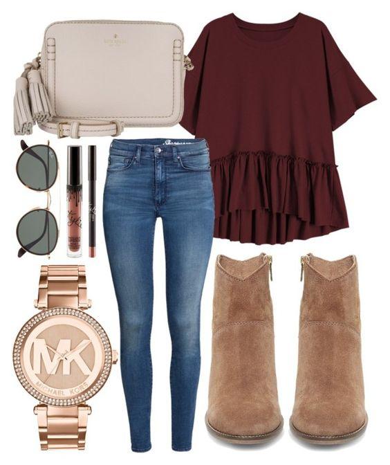 blue-med-skinny-jeans-tan-shoe-booties-white-bag-burgundy-tee-watch-sun-fall-winter-weekend.jpg