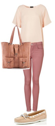 r-pink-light-skinny-jeans-o-peach-tee-peach-bag-tan-shoe-flats-howtowear-fashion-style-outfit-spring-summer-weekend.jpg
