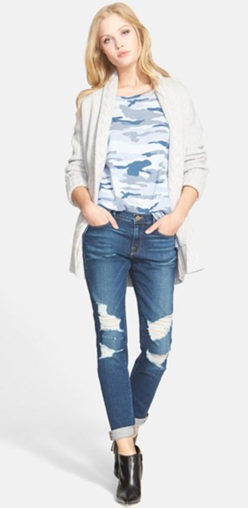 blue-med-skinny-jeans-blue-light-tee-howtowear-style-fashion-fall-winter-black-shoe-booties-camo-destroyed-white-cardiganl-blonde-weekend.jpg