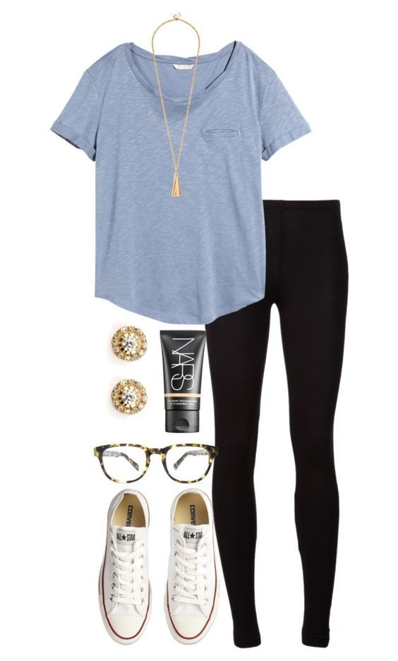 black-leggings-blue-light-tee-studs-white-shoe-sneakers-necklace-pend-howtowear-fashion-style-spring-summer-outfit-weekend.jpg
