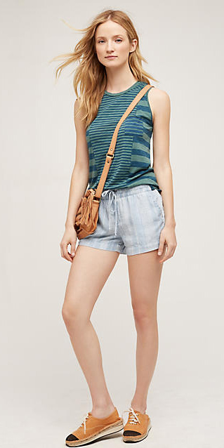 blue-light-shorts-blue-med-tee-stripe-howtowear-fashion-style-outfit-spring-summer-cognac-bag-cognac-shoe-flats-blonde-weekend.jpg
