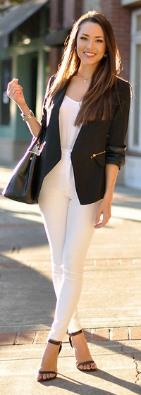 white-skinny-jeans-white-tee-black-jacket-blazer-black-bag-howtowear-fashion-style-outfit-spring-summer-necklace-watch-black-shoe-sandalh-brun-work.jpg