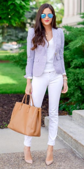 white-skinny-jeans-white-tee-purple-light-jacket-blazer-tan-bag-tote-sun-tan-shoe-pumps-howtowear-fashion-style-outfit-spring-summer-necklace-casualfriday-brun-work.jpg
