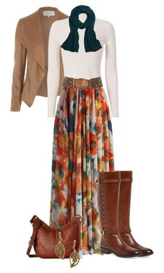 white-tee-cognac-shoe-boots-cognac-bag-floral-print-tan-jacket-moto-blue-navy-scarf-orange-maxi-skirt-fall-winter-lunch.jpg