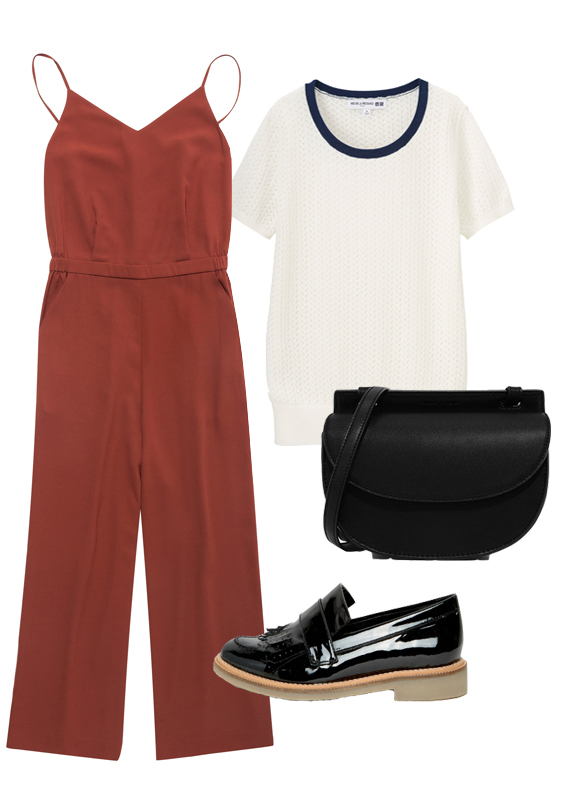 camel-jumpsuit-white-tee-black-bag-black-shoe-loafers-howtowear-fall-winter-lunch.jpg
