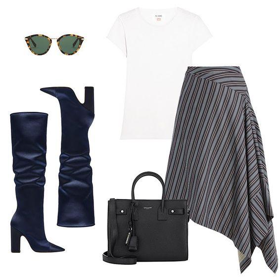 grayl-midi-skirt-stripe-black-bag-blue-shoe-boots-sun-white-tee-fall-winter-lunch.jpg