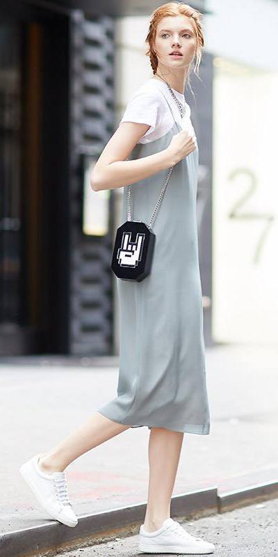 grayl-dress-slip-white-tee-black-bag-braid-white-shoe-sneakers-howtowear-spring-summer-hairr-weekend.jpg