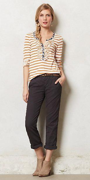 grayd-chino-pants-camel-tee-stripe-earrings-braid-tan-shoe-booties-fall-winter-blonde-weekend.jpg