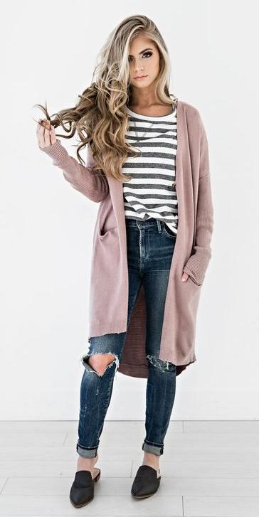 blue-navy-skinny-jeans-grayd-tee-stripe-blonde-black-shoe-loafers-pink-light-cardiganl-fall-winter-weekend.jpg