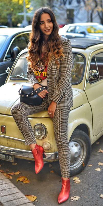 tan-slim-pants-tan-jacket-blazer-plaid-suit-white-graphic-tee-hairr-red-shoe-booties-fall-winter-lunch.jpg