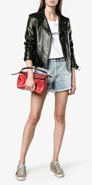 blue-light-shorts-white-graphic-tee-red-bag-tan-shoe-sneakers-black-jacket-moto-denim-spring-summer-weekend.jpg