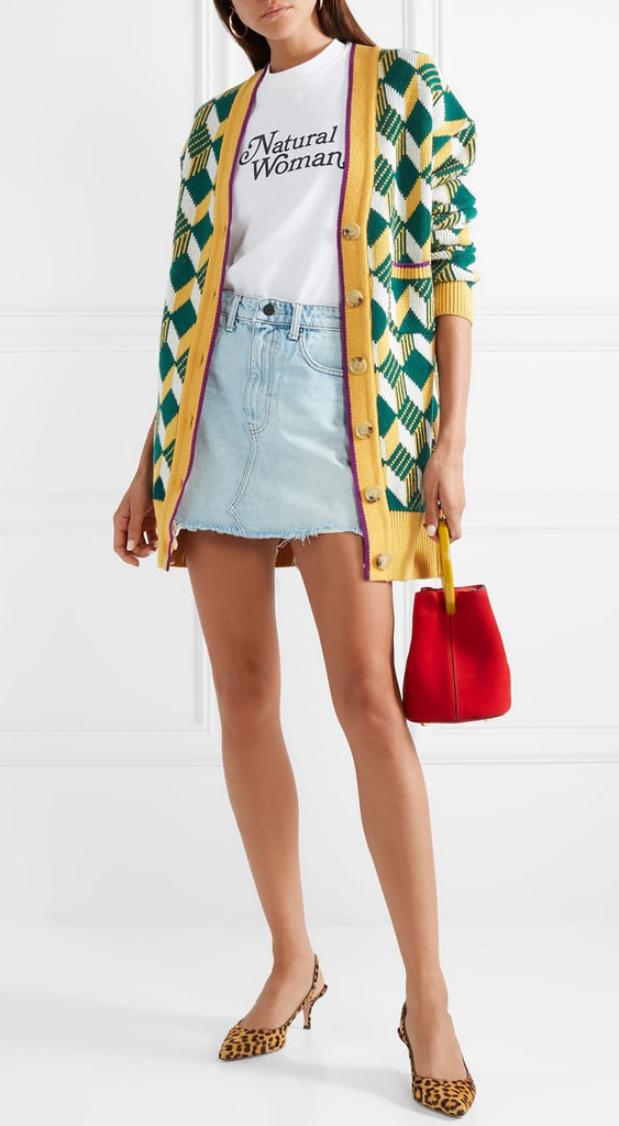 blue-light-mini-skirt-white-graphic-tee-hairr-red-bag-yellow-cardiganl-argyle-print-green-emerald-cardiganl-yellow-shoe-pumps-fall-winter-lunch.jpg