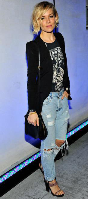 blue-light-boyfriend-jeans-black-graphic-tee-black-jacket-blazer-black-bag-black-shoe-sandalh-blonde-siennamiller-dinner.jpg