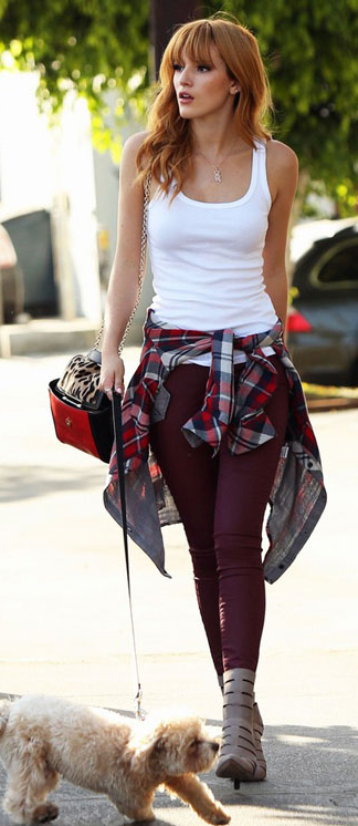 r-burgundy-skinny-jeans-white-top-tank-necklace-red-plaid-shirt-tan-shoe-booties-howtowear-fashion-style-outfit-spring-summer-hairr-weekend.jpg