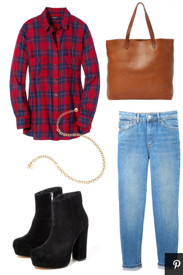 blue-med-skinny-jeans-red-plaid-shirt-howtowear-style-fashion-fall-winter-black-shoe-booties-necklace-cognac-bag-tote-weekend.jpg