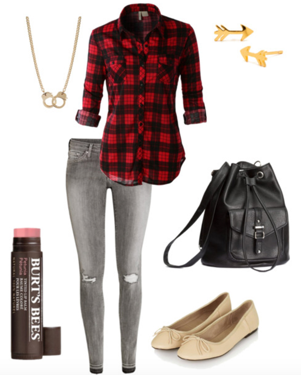 grayl-skinny-jeans-red-plaid-shirt-howtowear-fashion-style-outfit-fall-winter-tan-shoe-flats-black-bag-necklace-studs-casual-weekend.jpg
