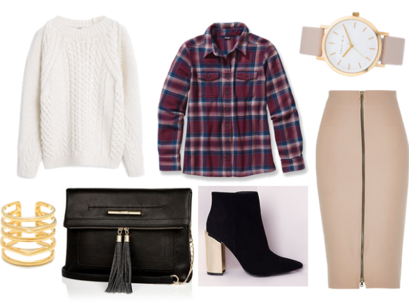 o-tan-pencil-skirt-r-burgundy-plaid-shirt-white-sweater-black-bag-howtowear-fashion-style-outfit-fall-winter-zip-black-shoe-booties-bracelet-cuff-watch-work-office.jpg