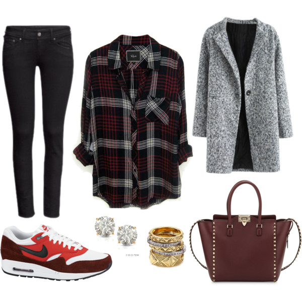 black-skinny-jeans-r-burgundy-plaid-shirt-grayl-jacket-coat-red-shoe-sneakers-burgundy-bag-studs-howtowear-fashion-style-outfit-fall-winter-weekend.jpg