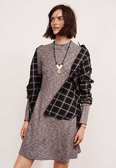 grayl-dress-black-plaid-shirt-necklace-tshirt-wear-style-fashion-fall-winter-brunette-weekend.jpg