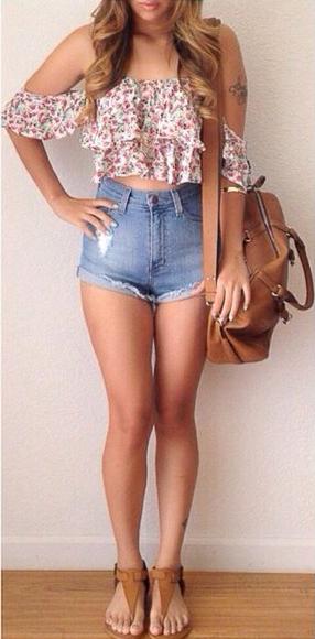 blue-light-shorts-r-pink-light-top-offshoulder-floral-print-denim-beach-cognac-shoe-sandals-cognac-bag-howtowear-fashion-style-outfit-hairr-spring-summer-weekend.jpg