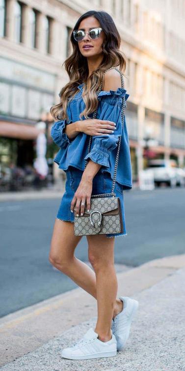 blue-med-mini-skirt-white-shoe-sneakers-sun-blue-med-top-offshoulder-spring-summer-hairr-weekend.jpg