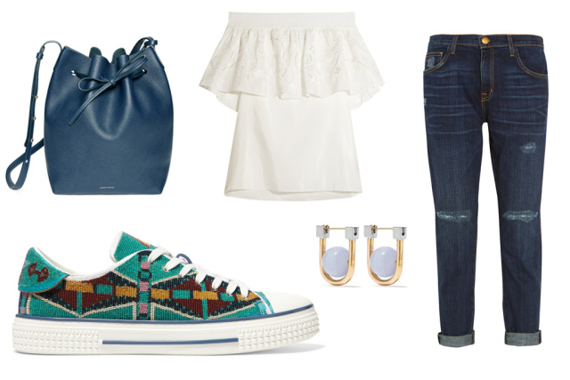 blue-navy-skinny-jeans-white-top-offshoulder-blue-bag-studs-green-shoe-sneakers-howtowear-fashion-style-outfit-spring-summer-lunch.jpg