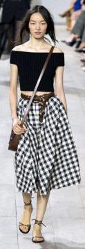 white-midi-skirt-black-top-brown-bag-belt-pony-print-wear-outfit-spring-summer-brown-shoe-sandals-runway-gingham-offshoulder-brun-lunch.jpg