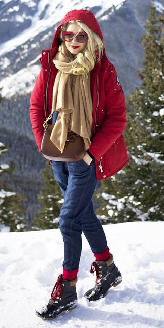 blue-navy-jumpsuit-overalls-tan-scarf-blonde-sun-snow-socks-black-shoe-booties-cognac-bag-red-jacket-coat-parka-fall-winter-weekend.jpeg