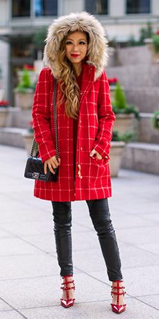 black-leggings-red-shoe-pumps-black-bag-hairr-red-jacket-coat-parka-fall-winter-outfit-dinner.jpg
