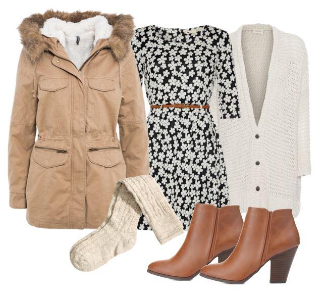 white-dress-floral-print-mini-socks-cognac-shoe-booties-white-cardiganl-tan-jacket-coat-parka-fall-winter-outfit-lunch.jpg