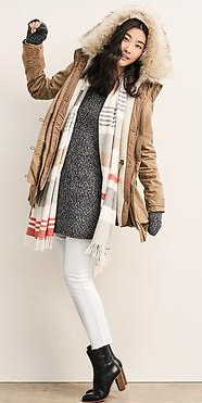 white-skinny-jeans-grayd-sweater-white-scarf-black-shoe-booties-howtowear-style-fashion-fall-winter-camel-jacket-coat-parka-gap-outfit-brun-lunch.jpg