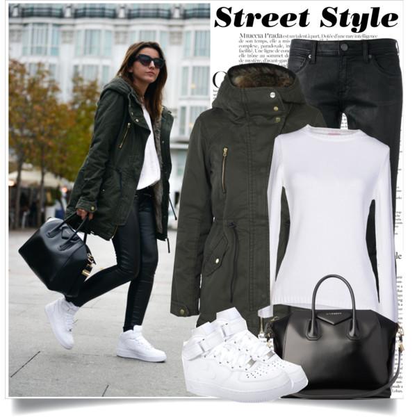 black-skinny-jeans-white-tee-black-bag-hairr-sun-white-shoe-sneakers-green-olive-jacket-coat-parka-fall-winter-weekend.jpg