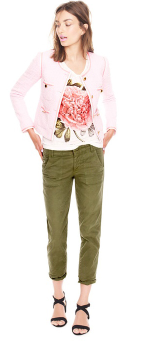 green-olive-skinny-jeans-pink-light-graphic-tee-pink-light-jacket-lady-tweed-black-shoe-sandalh-style-spring-summer-hairr-lunch.jpg