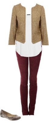 r-burgundy-skinny-jeans-white-top-blouse-tan-jacket-lady-tan-shoe-flats-howtowear-fashion-style-outfit-spring-summer-work.jpg