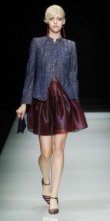 burgundy-mini-skirt-blue-navy-jacket-lady-earrings-bun-runway-wear-style-fashion-fall-winter-tweed-burgundy-shoe-pumps-blonde-work.jpg