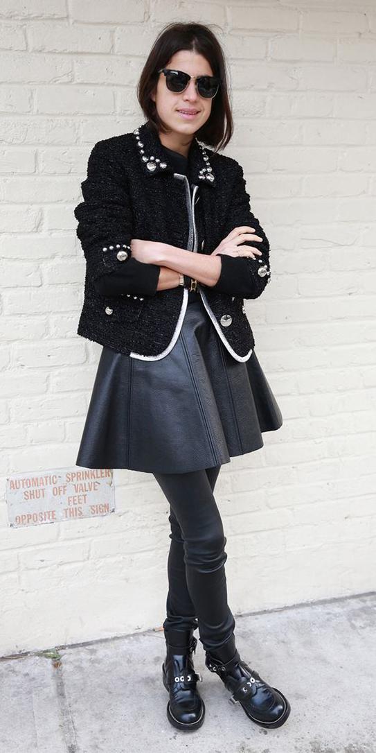 black-shoe-booties-sun-brun-mono-black-jacket-lady-fall-winter-lunch.jpg