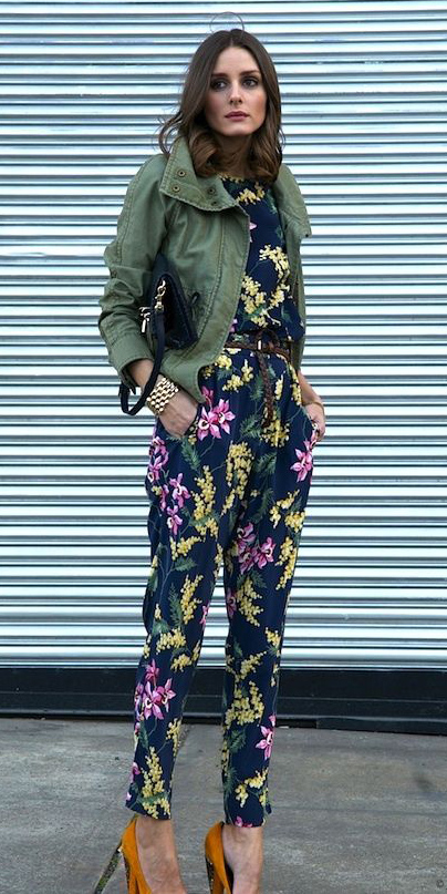 blue-navy-jumpsuit-floral-print-green-olive-jacket-utility-hairr-orange-shoe-pumps-fall-winter-oliviapalermostyle-lunch.jpg