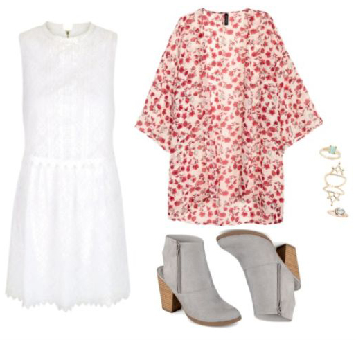 white-dress-red-cardiganl-kimono-gray-shoe-booties-howtowear-fashion-style-outfit-spring-summer-mini-rings-dinner.jpg