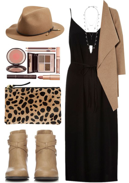 how-to-style-black-dress-slip-tank-hat-tan-bag-clutch-leopard-print-tan-shoe-booties-tan-cardiganl-necklace-fall-winter-fashion-lunch.jpg